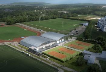 Un nouveau complexe de tennis