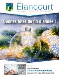 """Votre magazine """"Élancourt"""" de décembre"""