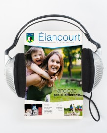 Le magazine municipal existe aussi en version audio