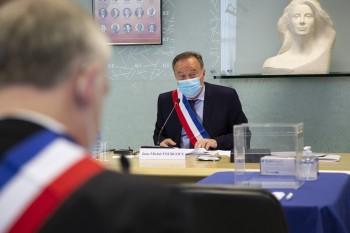 JEAN-MICHEL FOURGOUS RÉÉLU MAIRE D'ÉLANCOURT
