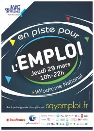 En piste pour l'emploi : le 29 mars