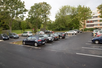 Travaux parking Raoul Dufy