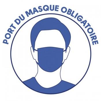 Port du masque obligatoire sur la voie publique