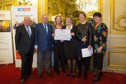 La Ville d'Elancourt récompensée par un Prix Territoria