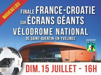 Retransmission France-Croatie au Vélodrome National de Saint-Quentin-en-Yvelines