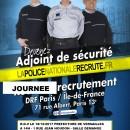 Journée de recrutement de la Police Nationale