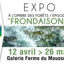 """Exposition """"A l'ombre des forêts : Frondaisons"""""""