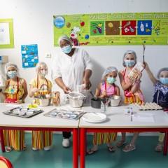Activité cuisine à Willy Brandt