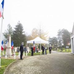 Cérémonie de commémoration du 102ème anniversaire
