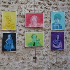 Créations des élèves de l'école municipale des art