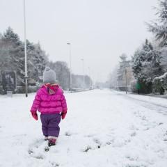 Elancourt sous la neige