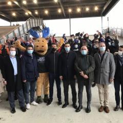 SOP 2021: Tony Estanguet était au Vélodrome Natio