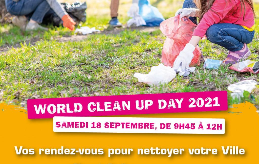 Élancourt se mobilise pour la Journée mondiale du nettoyage !