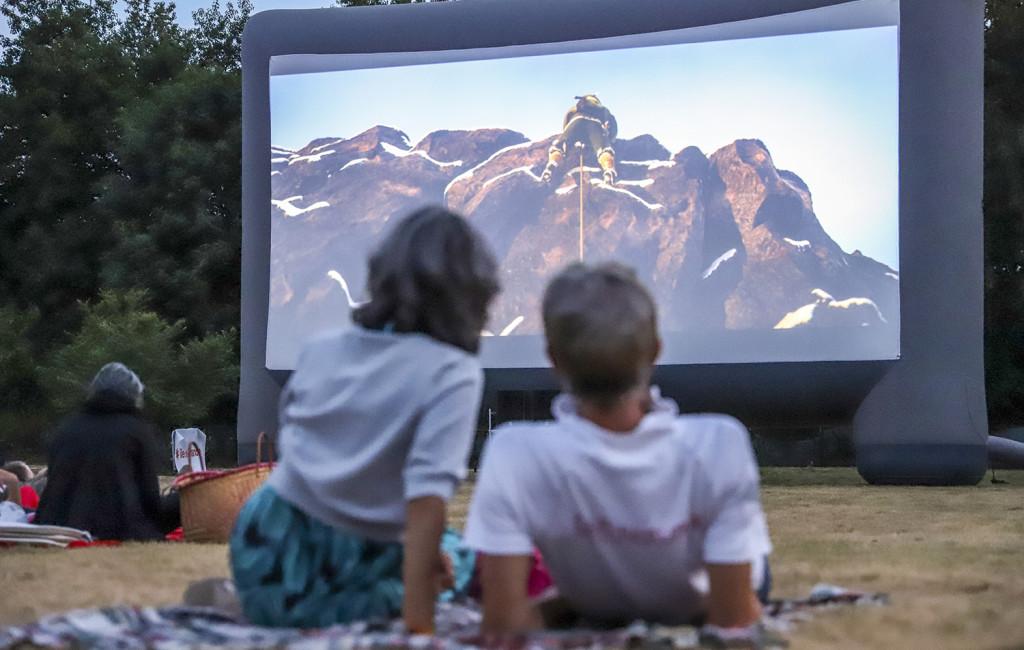 Cinéma en plein air à La Commanderie