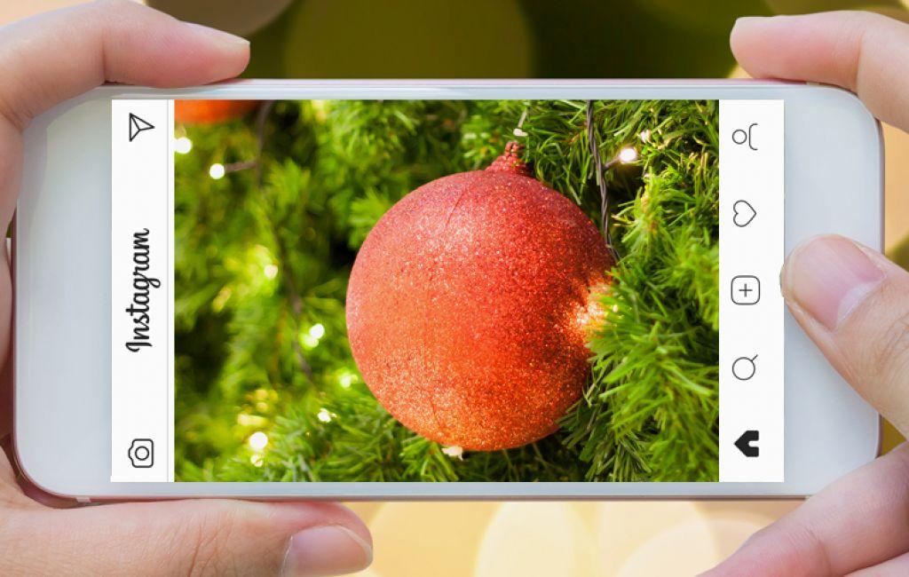 "Concours photos Instagram ""illuminations de Noël"""