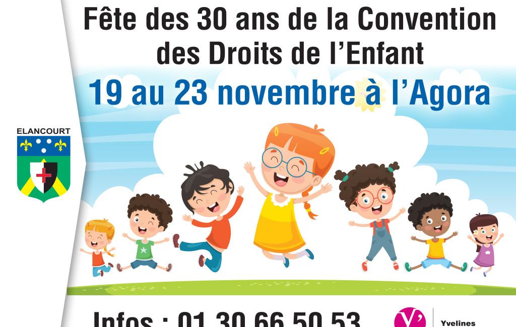 Les 30 ans de la déclaration internationale des Droits de l'Enfant