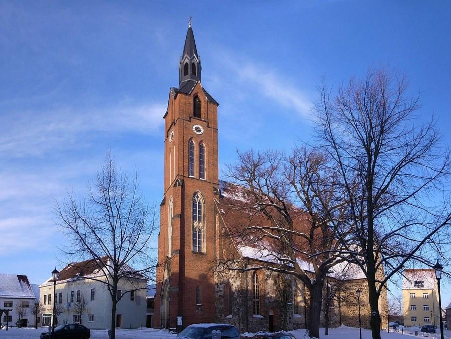 L'église Sainte-Marie de Gräfenhainichen