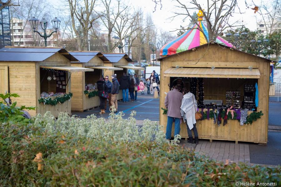 Marché de Noël  © Ville d'Elancourt