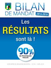 Bilan de mandat 2014 - 2019