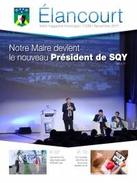 Elancourt Magazine n°229 - novembre 2017