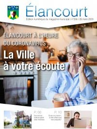 Elancourt Magazine n°25 - avril 2020