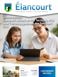 Élancourt Magazine N°262 - Novembre 2020
