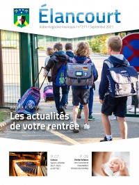 Élancourt Magazine - N° 27 - Septembre 2021
